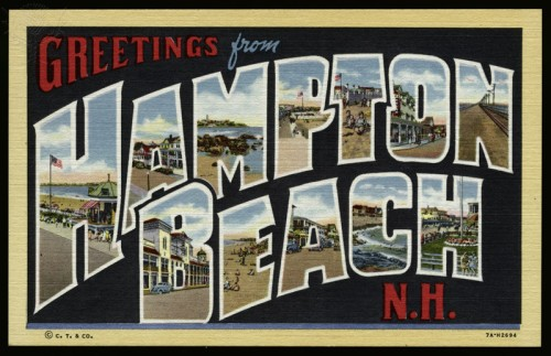 Greeting Card from Hampton Beach, New Hampshire/Lake County Discovery Museum / Universal Images Group
